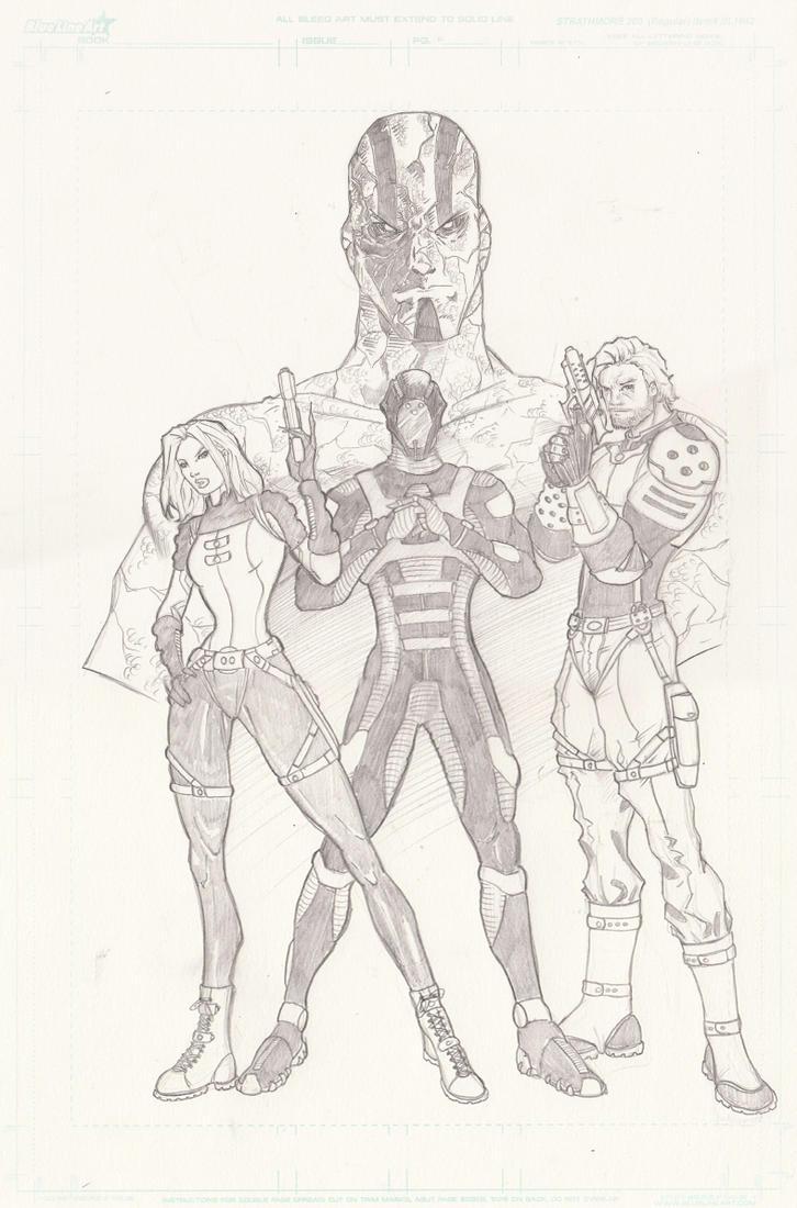 Character Design Visual Novel : Graphic novel characters design by brianvander on deviantart