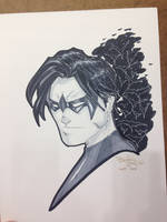 Indiana Comic Con 2105 Commission Nightwing by BrianVander
