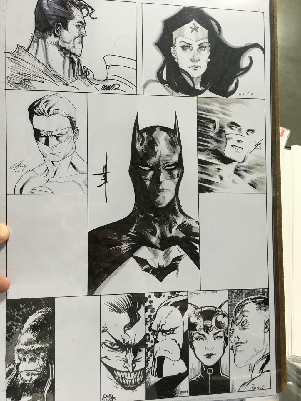 NYCC 2015 JAM PIECE UPDATE by BrianVander