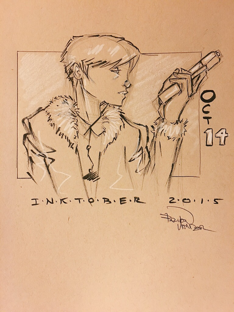 Inktober 2015 Oct 14 by BrianVander