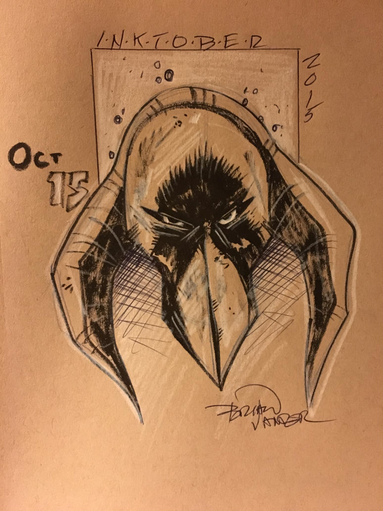 Inktober 2015 Oct 15 by BrianVander
