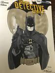 Batman cover recreation C2E2 2016 Show Commission