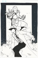 Iron Man and the Question C2E2 Commission by BrianVander