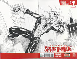 Spider-Man Sketch Cover by BrianVander
