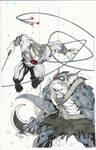 Heroes Con Commission Tygra vs Slythe