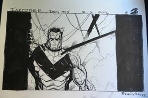 Inktober 2016 Day 6 X-Men story panel 2 by BrianVander