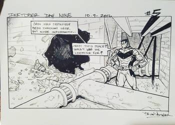 Inktober 2016 Day 9 X-Men story panel 5 by BrianVander