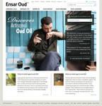 Eoud - Web site layout design