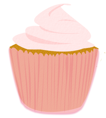 pink frosted cupcake clip art by wisp stock on deviantart rh deviantart com Pink Cake Clip Art Chocolate Cupcake Clip Art