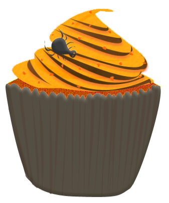 Halloween Cupcake Clipart by Wisp-Stock on DeviantArt