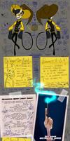 WizardpaloozaOCT Ref Sheet: Xanthe by Aikaikaik