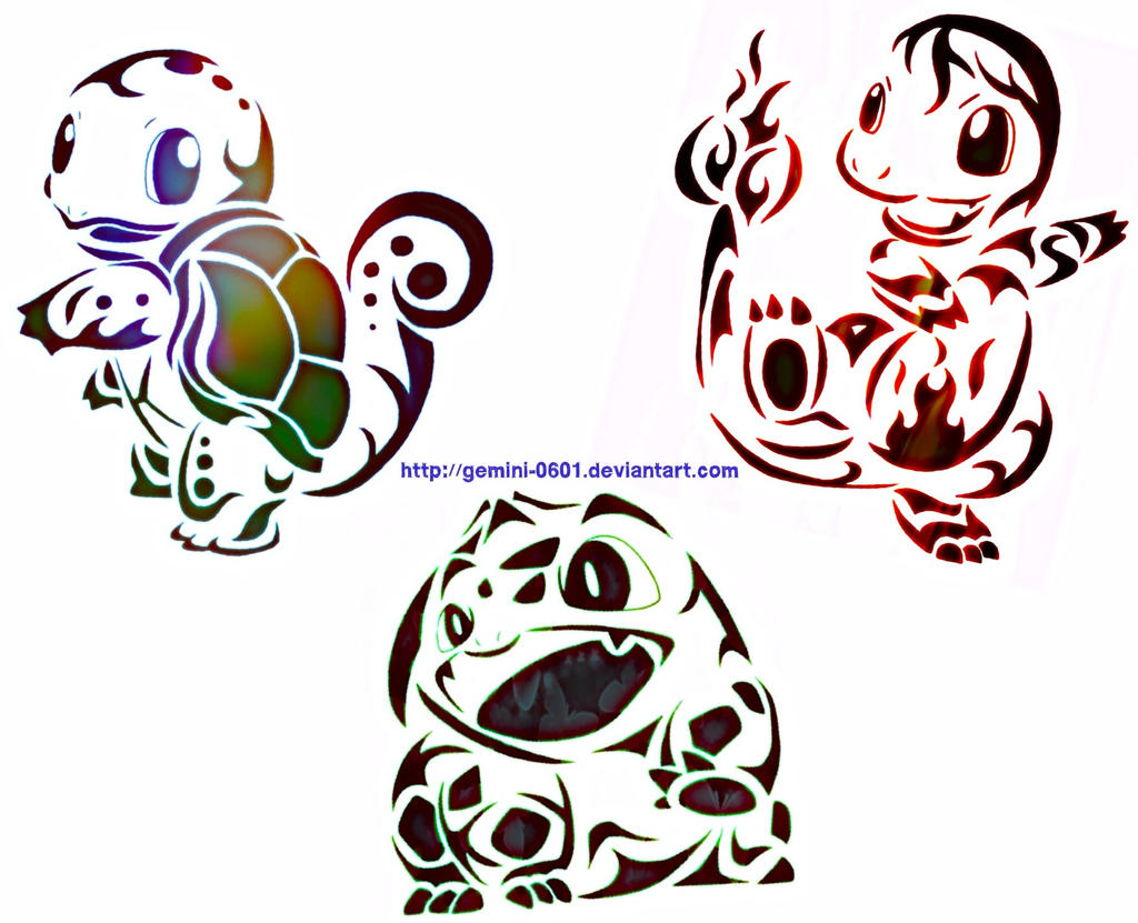 Tribal Pokemon Tattoos Squirtle Images | Pokemon Images