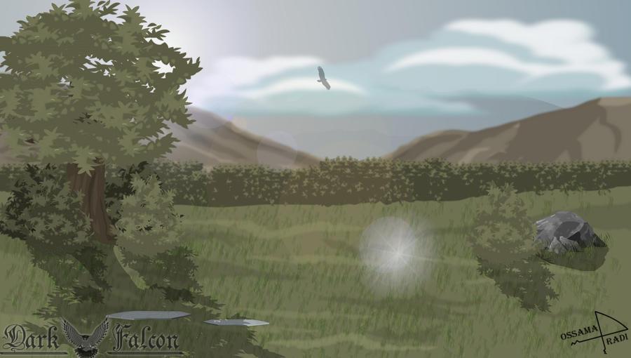 [Tutorial] : Background-Nature by 1Darkfalcon