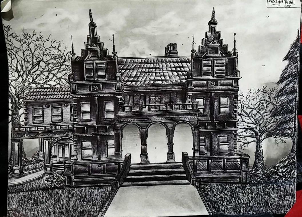 Dark Mansion By 1Darkfalcon