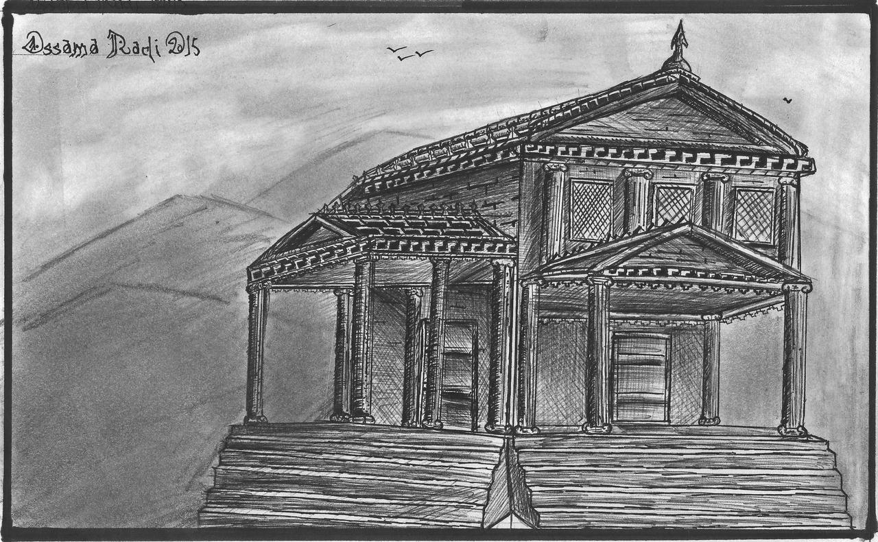 Greek Architecture Drawing image gallery of greek architecture drawings