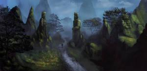 King rocks valley