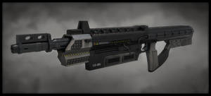 20-MD Futuristic weapon design by LMorse