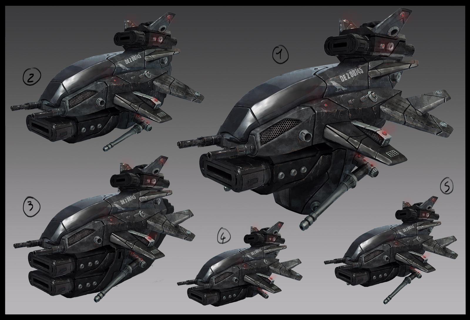 Ship DE Z 00745 concept iteration by LMorse