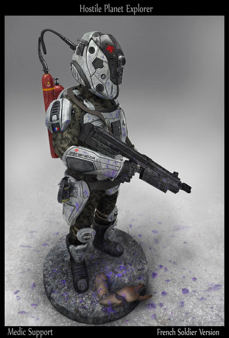 Hostile Planet Explorer by LMorse