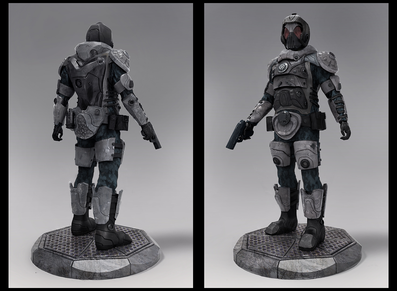 Futur soldier EX-07 Color by LMorse