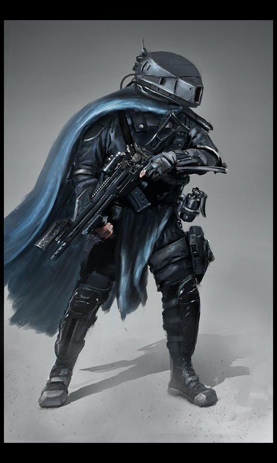 cyber futur soldier by LMorse
