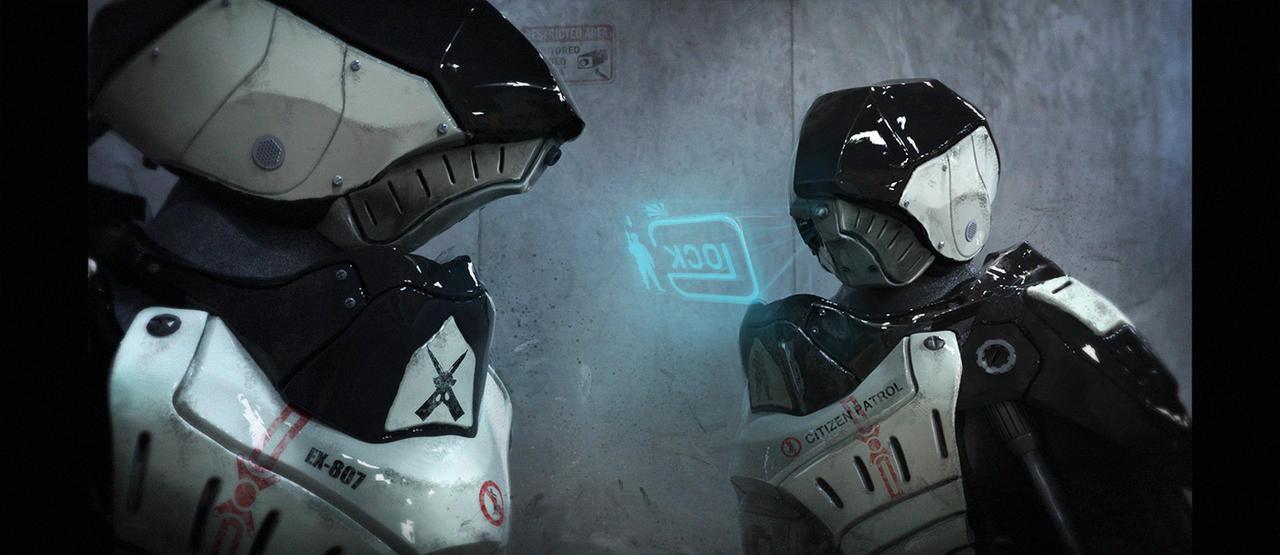 Citizen patrol cyberdroid by LMorse