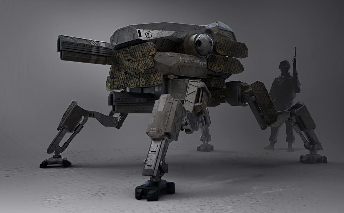 ID-7 army mech patrol design by LMorse