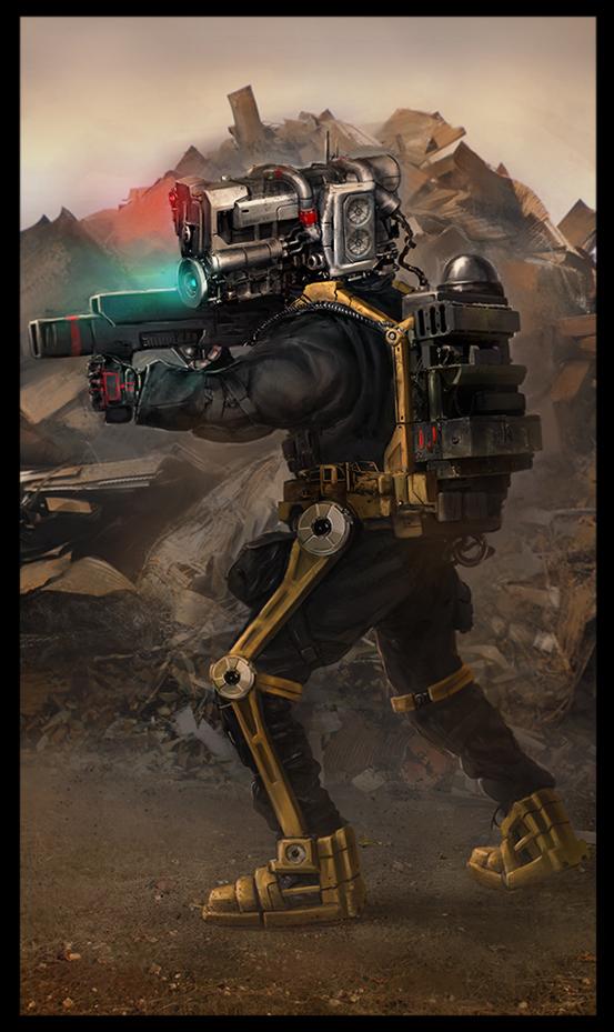 assault mech soldier