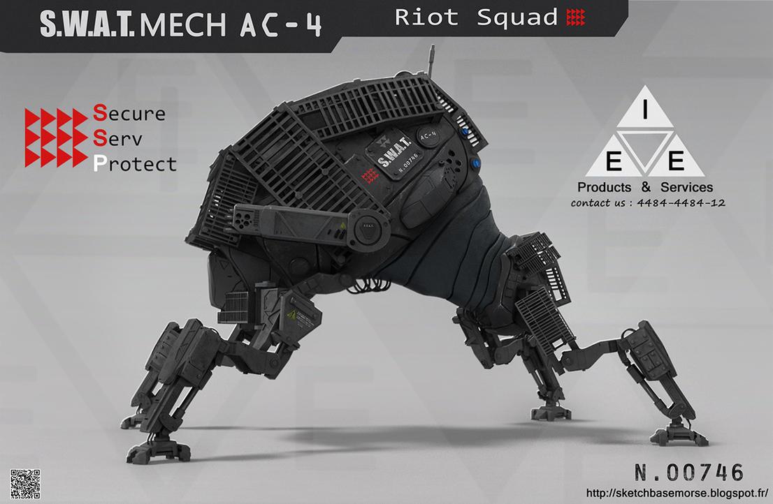 S.W.A.T.MECH AC-4 by LMorse on DeviantArt