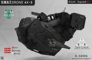 S.W.A.T.Drone AX-5 by LMorse