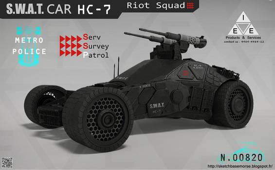 S.W.A.T.Car HC-7