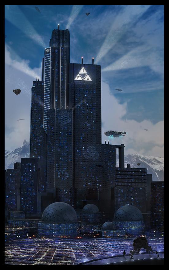 Concept 2 Model D >> I.E.E. Center City Building v2 by LMorse on DeviantArt