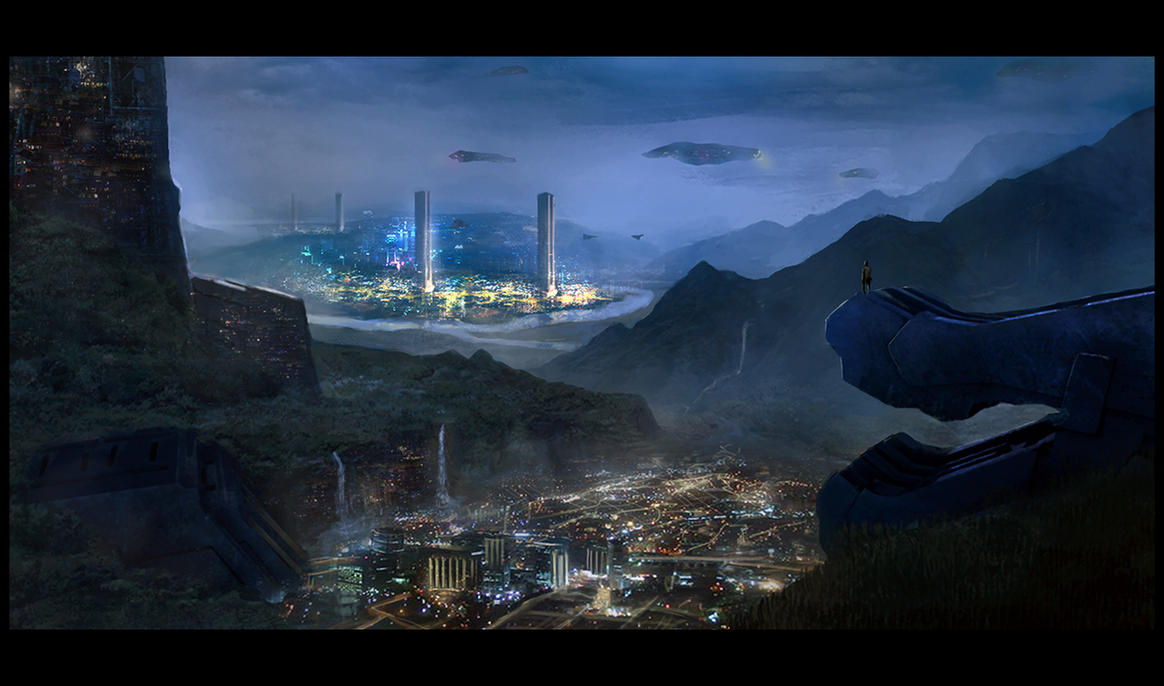 A night on terra Z-2b by LMorse