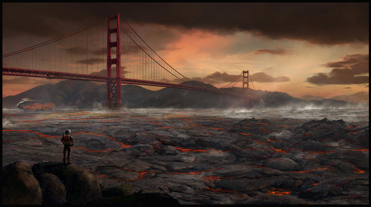 Last days of San Francisco by LMorse