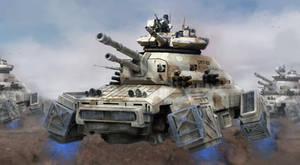 UET-22 Tank assault by LMorse