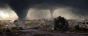 Natural disaster by LMorse