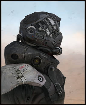 Russian Bot soldier by LMorse