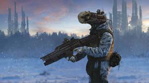 Cyberdroid Winter Patrol