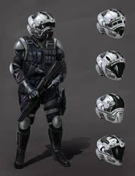 future soldier concept by LMorse