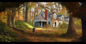 abandoned 'autumn'