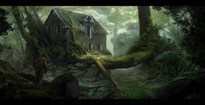 abandoned 'jungle' by LMorse