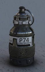 P74 - Photon hand grenade by LMorse