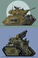 Tank sketch by LMorse