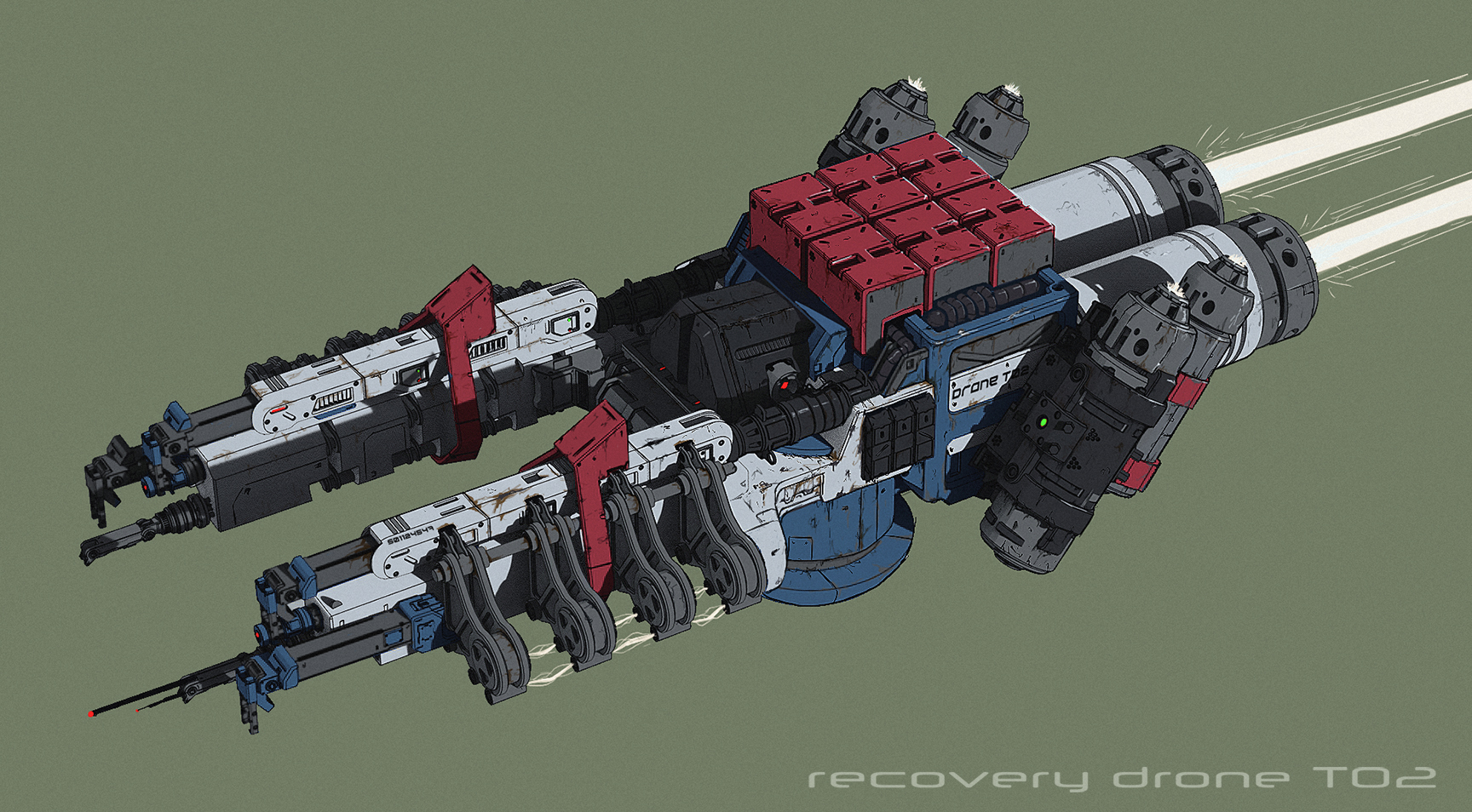 Recovery Drone Ship