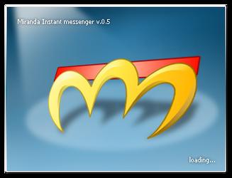 Miranda IM 0.5 splash screen by eeRiZ