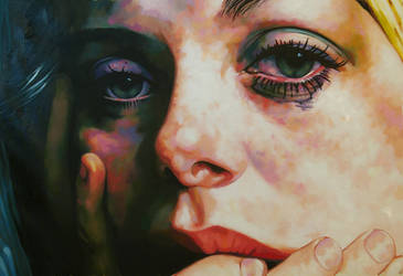 teary eyed Catherine