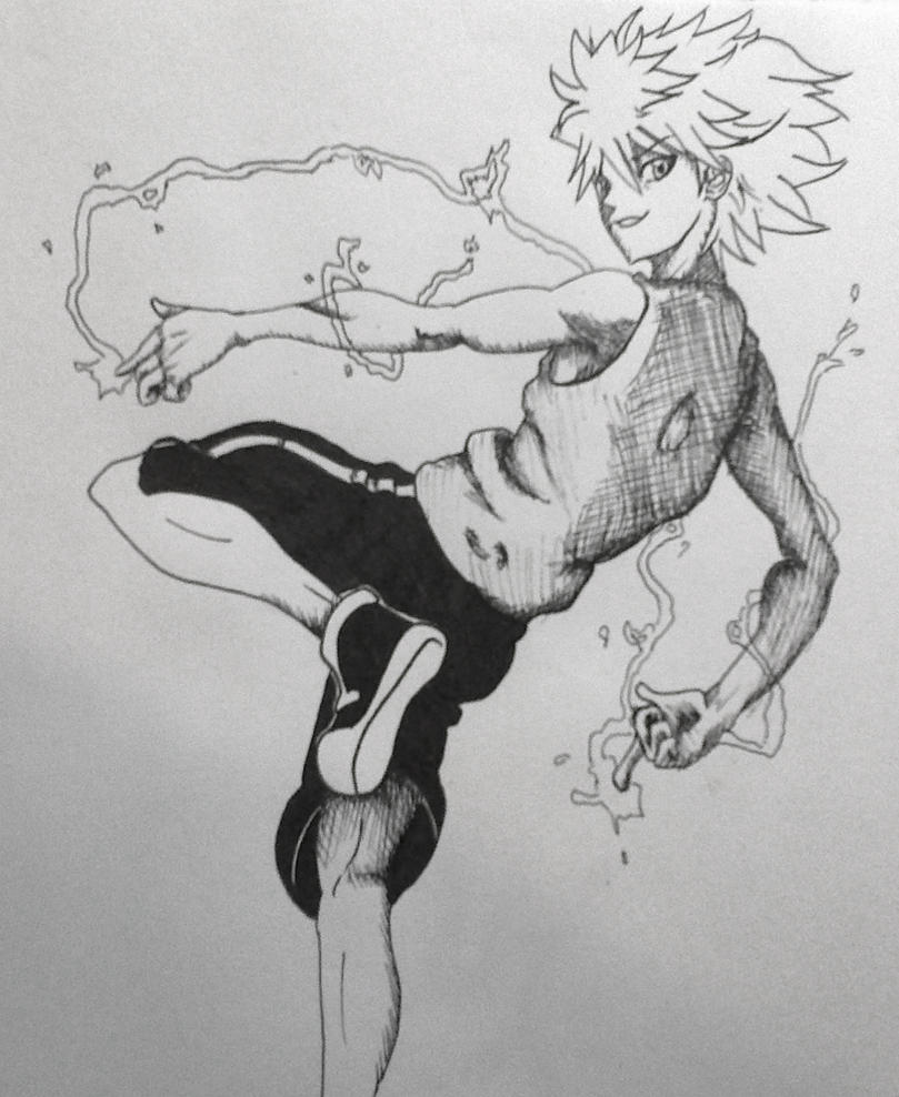 Killua Zaoldyeck - HXH by zuReiki