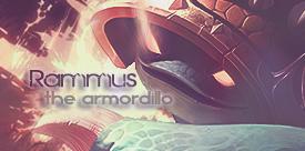 Rammus // the Armordillo by gwannah