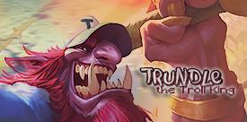 Trundle // the Troll King by gwannah
