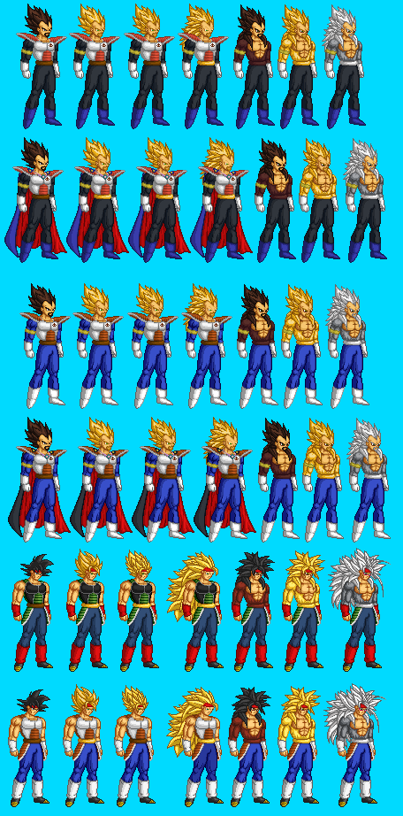 Gallery For > Bardock And King Vegeta Fusion